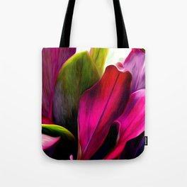 Ti Leaf Bouquet Tote Bag