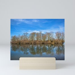 DE - Baden-Württemberg : Lake island Mini Art Print