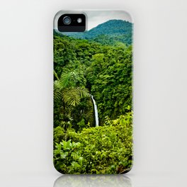 La Fortuna iPhone Case
