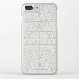 Astrologer Journal (On Dark) Clear iPhone Case