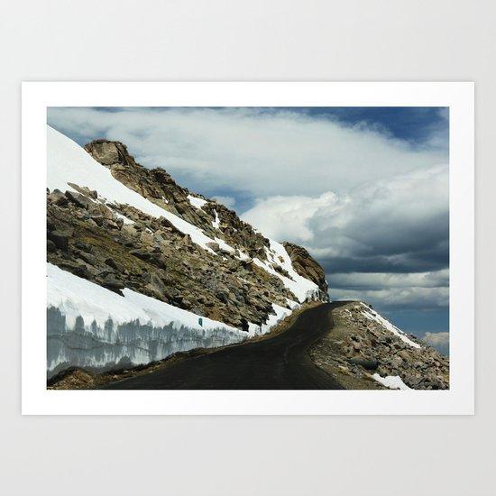Mile 11 Art Print