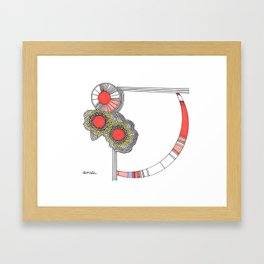 Flower Child Pt I Framed Art Print