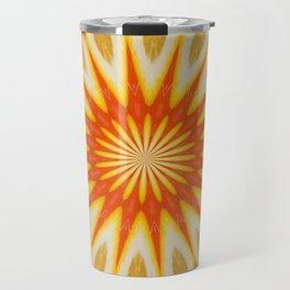 Simply Citrus  Lemon Slices and Blood Orange Travel Mug