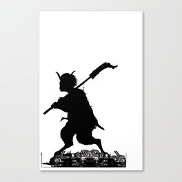 it's time to fish souls Canvas Print