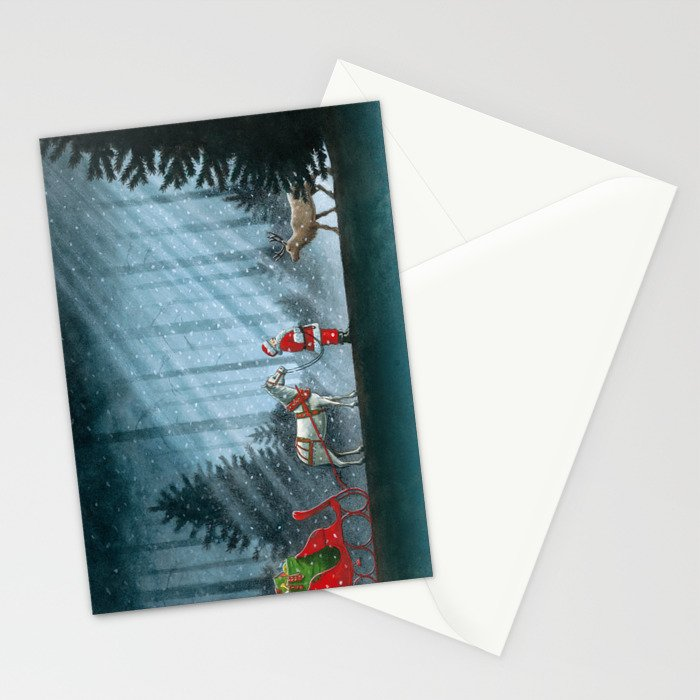 Cover art for Dasher Stationery Cards