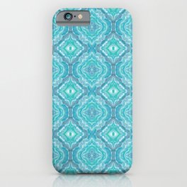 Ocean Melt Kaleido Pattern iPhone Case