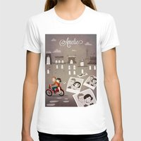 amelie T-shirts featuring Amelie by The Fan Wars