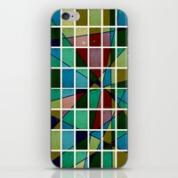 mosaic iPhone & iPod Skins featuring Mosaic by Tammy Kushnir