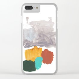 Hardly Abstract No. 1 Clear iPhone Case