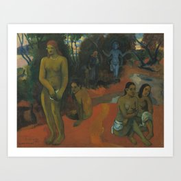 Paul Gauguin - Te Pape Nave Nave (Delectable Waters) Art Print