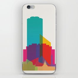 Shapes of Edmonton iPhone Skin