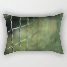 Old Grid Rectangular Pillow