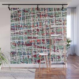 Crisscrossing Wall Mural