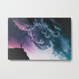 The Collapse Metal Print
