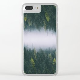 Forest Reflections XIV Clear iPhone Case