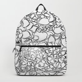 Winter Creeper Line Art Backpack
