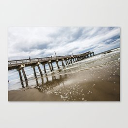 Tybee Island Pier Canvas Print