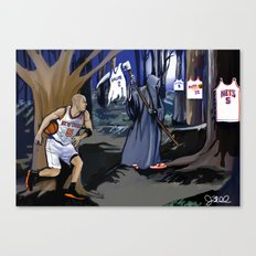 Jason Kidd cheating basketball death Canvas Print