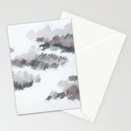 clouds_january Stationery Cards