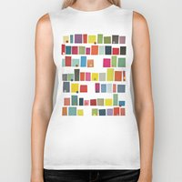 city Biker Tanks featuring City by Cassia Beck