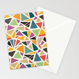 Triangle Treat Mosaic Stationery Cards