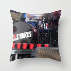 Red Solo - The Strokes Throw Pillow