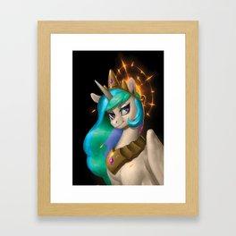 Princess Celestia Framed Art Print