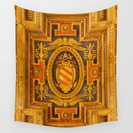 untitled gold Wall Tapestry