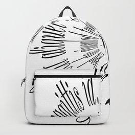 Lorem Ipsum (Black) Backpack