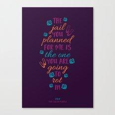 The Color Purple's Celie Canvas Print