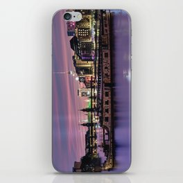 Berlin Purple iPhone Skin