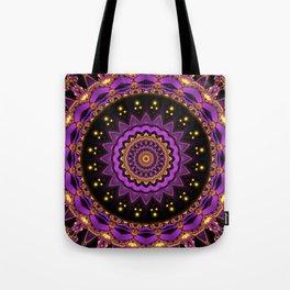 Mandala mystic Star Tote Bag