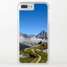 Hiker's Paradise Clear iPhone Case