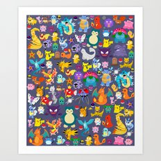 Pocket Collection 3 Art Print