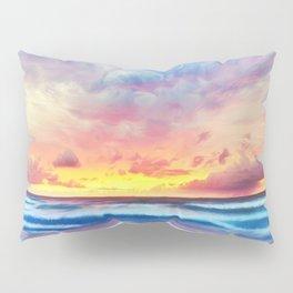 Lonas planet stormy evening Pillow Sham