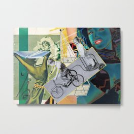 Artist Trading Card #3 Metal Print