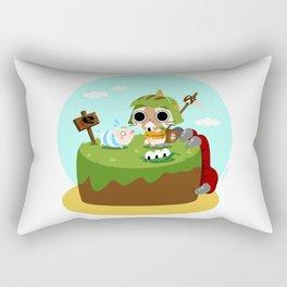 Monster Hunter - Felyne and Poogie Rectangular Pillow
