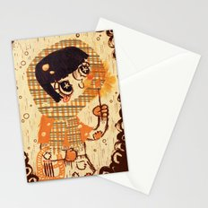 The Little Match Girl 卖火柴の小女孩 Stationery Cards