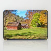 tennessee iPad Cases featuring Johnson City Tennessee Cabins by Mary Timman
