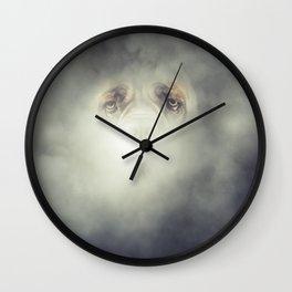 Dog Fog Wall Clock