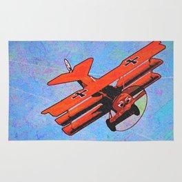 Fokker triplane V2 Rug