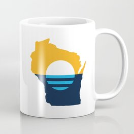 Wisconsin - People's Flag of Milwaukee Coffee Mug