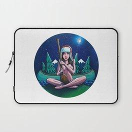 Canoe Girl Laptop Sleeve