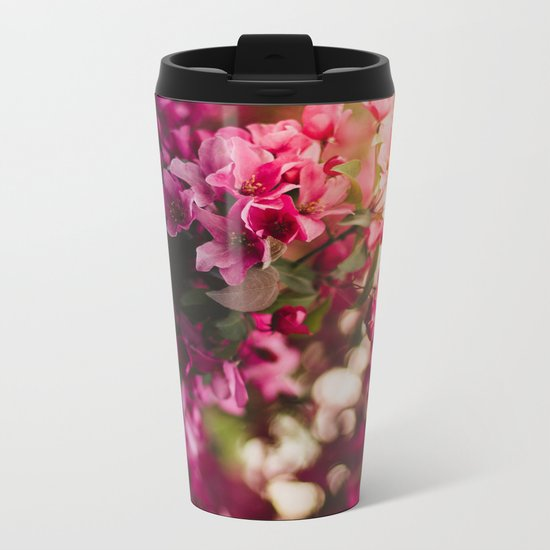 Beauty of Spring II Metal Travel Mug