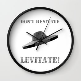 Don't hesitate, levitate! Wall Clock