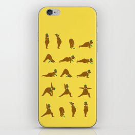 Yoga Bear - Classic iPhone Skin