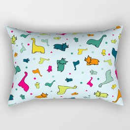 Discosaurus Rectangular Pillow