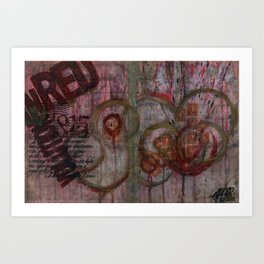 InRed.Involution Art Print