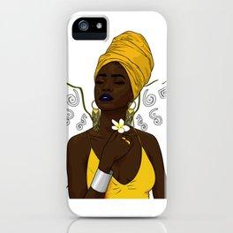 Melanin Powrà iPhone Case