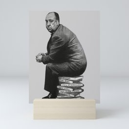 Stack - pencil / graphite drawing of a famous director Mini Art Print